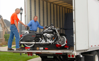 5 star rated motorcycle transport